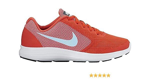 Nike Revolution 3 (GS), Zapatillas de Running para Mujer, Naranja (Naranja/(MAX Orange/Still Blue/Lava Glow/White) 000), 38.5 EU: Amazon.es: Zapatos y complementos