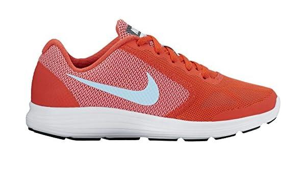 2f902164a Nike Revolution 3 (GS), Zapatillas de Running para Mujer, Naranja/(MAX  Orange/Still Blue/Lava Glow/White) 000, 37.5 EU: Amazon.es: Zapatos y  complementos
