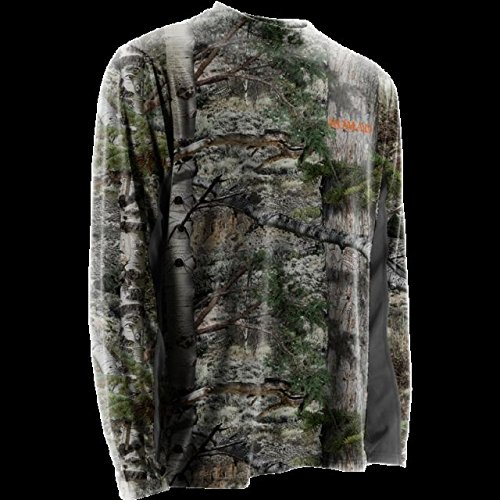 Nomad Long Sleeve Cooling Tee, Mossy Oak Mountain Country, Large