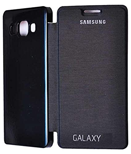 outlet store 0e253 c13ff Big Zee Flip Cover for Samsung Galaxy E5 (Black)