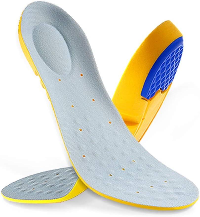 LXQGR Bienestar Plantillas Ortopédicas Deportivas para Entrenadores Botas para Caminar O Trabajar Zapatos (Tamaño : 34-37)