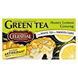 Celestial Seasonings Honey Lemon Ginseng Green Tea 20 ct, 6 pk