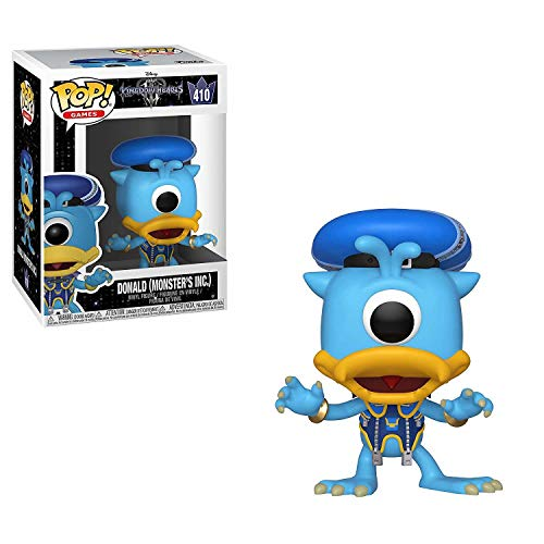 Funko Pop Disney: Kingdom Hearts 3 - Donald (Monsters Inc.) Collectible Figure, Multicolor