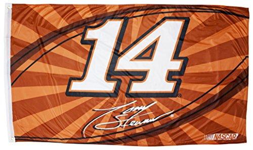 TONY STEWART FLAG-HUGE 3'X5' NASCAR #14 TONY STEWART FLAG WITH CAR # NEWEST STYLE