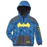 DC Comics Batman Little Boys Sherpa Fleece Zip Up Hoodie (3T)