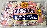 De la Rosa Pink and White Marshmellows, 16 oz