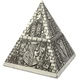 Pyramide Egyptienne - Boite Décorative - Réalisé En Métal