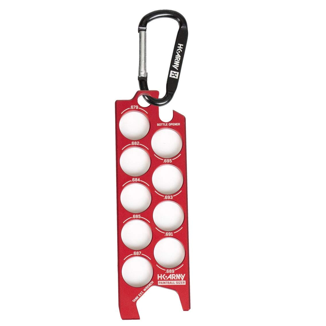 HK Army Ball Sizer Guide (Red) by HK Army
