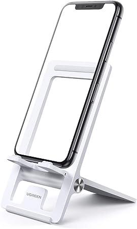 UGREEN Soporte Movil Mesa, Soporte Smartphones Universal Plegable ...