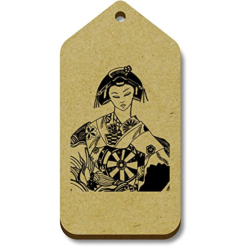Etiquetas equipaje Elegante' 'geisha tg00009263 Regalo 66mm X 34mm Azeeda 10 xU8qBwCg