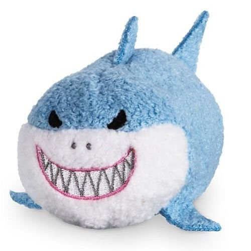 Disney Parks Bruce Tsum Tsum Plush - Finding Nemo 2 Collection - Mini - 3 1/2''