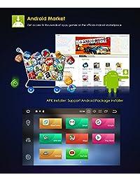 7 pulgadas Android 8.0 Octa Core 4G RAM 32G ROM HD Digital Multi Touch Pantalla IPS Reproductor de DVD estéreo del coche GPS de navegación Radio OBD2 WiFi DVR TPMS Doble 2 Din
