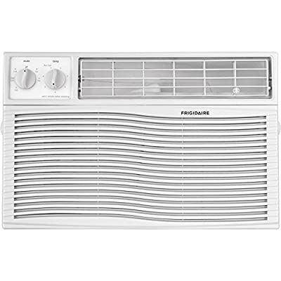 Frigidaire FFRA0811U1 8,000 Btu 115V Window-Mounted Mini-Compact Air Conditioner with Mechanical Controls, White