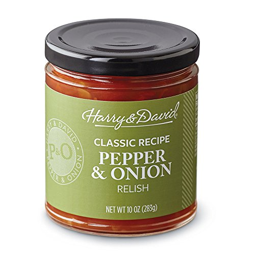 Harry & David Classic Recipe Pepper & Onion Relish (10 Ounces) (Dip Relish)