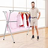 HYNAWIN Stainless Steel Laundry Drying Rack Heavy