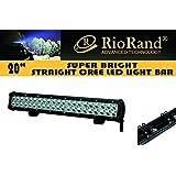 RioRand® CH-019-126W DC 9-32V 126W 6500K 7560lm 42-CREE LED Car Offroad Waterproof Work Light Bar Spot Beam Lamp RR-294600
