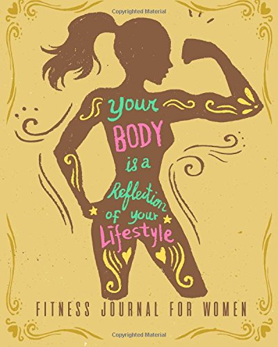 Download Fitness Journal for Women: Workout Log Book & Food Journal Planner Diary & Measurement Body (fitness log book) (Volume 2) ebook