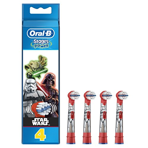 Kids by Oral-B Stages Power Star Wars Replacement Heads 4 Pack
