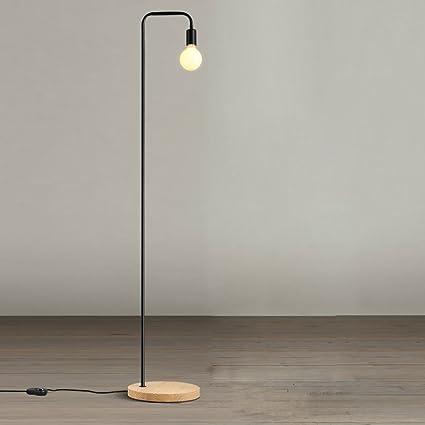Popa Dormitorio de la lámpara de pie Interruptor de pie de ...