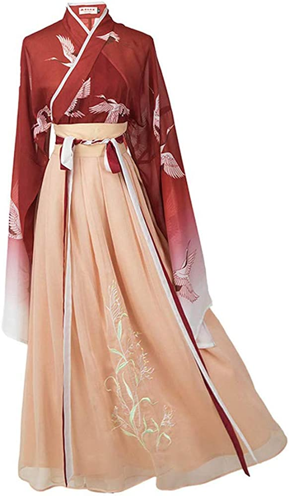 Women's Traditional Chinese Hanfu Dress Chinese Traditional Costume Hanfu Dress