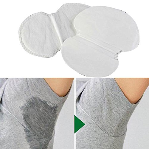 [12 Pcs Women and Men Summer Disposable Underarm Armpit Sweat Pads Absorbing Anti Perspiration Deodorant New Good] (Milk Woman Costume)