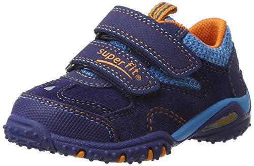 Superfit Baby Jungen Sport4 Mini Lauflernschuhe Blau (nautic Multi)