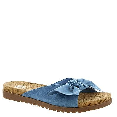 6d79fa089010 Yellow Box Melanee Women s Sandal 7 B(M) US Denim
