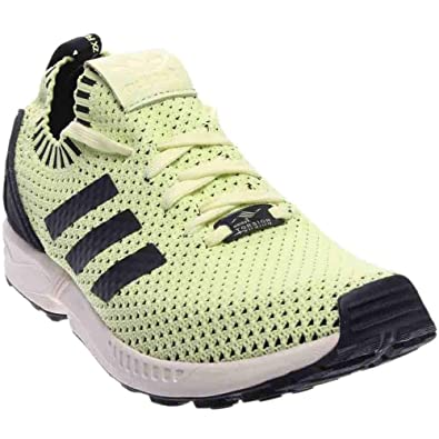 88adf5ff1 adidas Mens ZX Flux PK Athletic   Sneakers Blackyellow