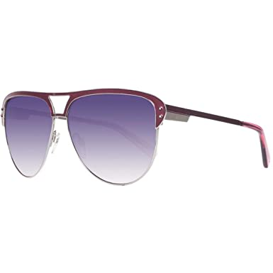 Amazon.com: Just Cavalli anteojos de sol JC 324/S Borgoña ...
