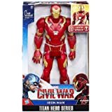 Marvel Titan Hero Series Civil War Iron Man Electronic Figure