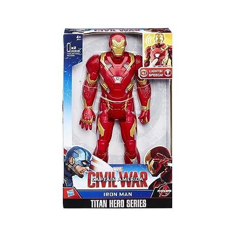 Marvel Titan Hero Series Civil War Captain America Electronic Figure HASBRO B61761020