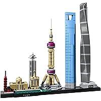 597-Piece LEGO Architecture Shanghai Building Kit