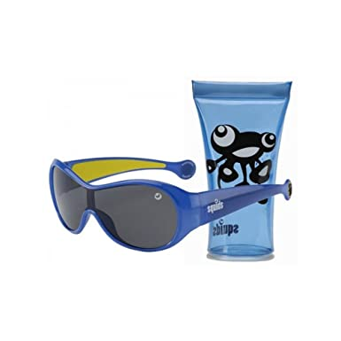 e01076fae0b7 J Banz 01S/B Blue Squids Wrap Sunglasses Size Junior: Amazon.co.uk ...
