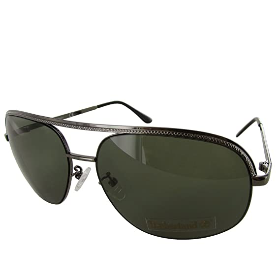2a462be8e3 Timberland Sunglass Mens Gunmetal Metal Aviator  Amazon.in  Clothing    Accessories
