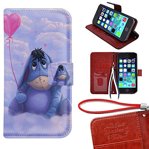 iPod Touch 5 Wallet Case, Onelee - Disney Winnie the Pooh...