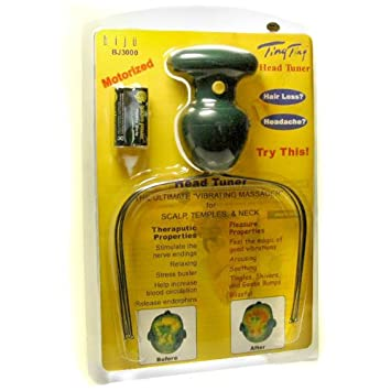 Afholte Amazon.com: Ting Ting Motorized Head Tuner Therapeutic Head Scalp JZ-57