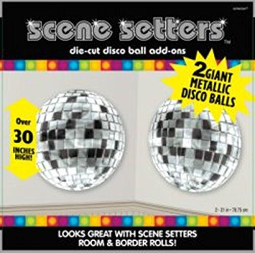 PartyExplosion Disco Balls Scene Setters Add Ons - Pack Of - Setters Scene Disco