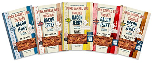 Pork Barrel BBQ Piglet Sampler Pack: 1 Bag each 2 oz flavor