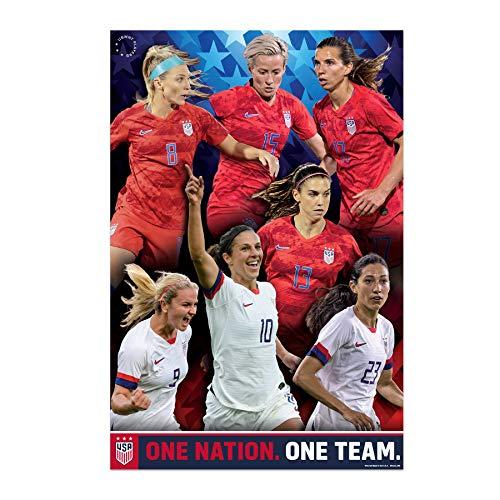 (US Women's Soccer Team Poster 2019 | USWNT Poster)