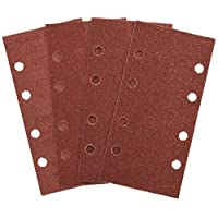Bosch 25tlg. Schleifblatt-Set verschiedene Materialien für Schwingschleifer (Körnung 40/60/80/120, 8 Löcher)