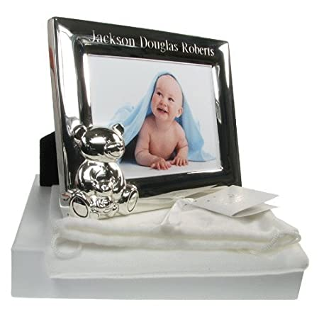 New Baby Gift, New Baby Engraved Photo Frame, Gifts for New Born ...