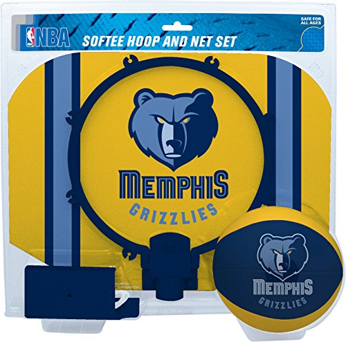 fan products of NBA Memphis Grizzlies Slam Dunk Softee Hoop Set, Small, Blue