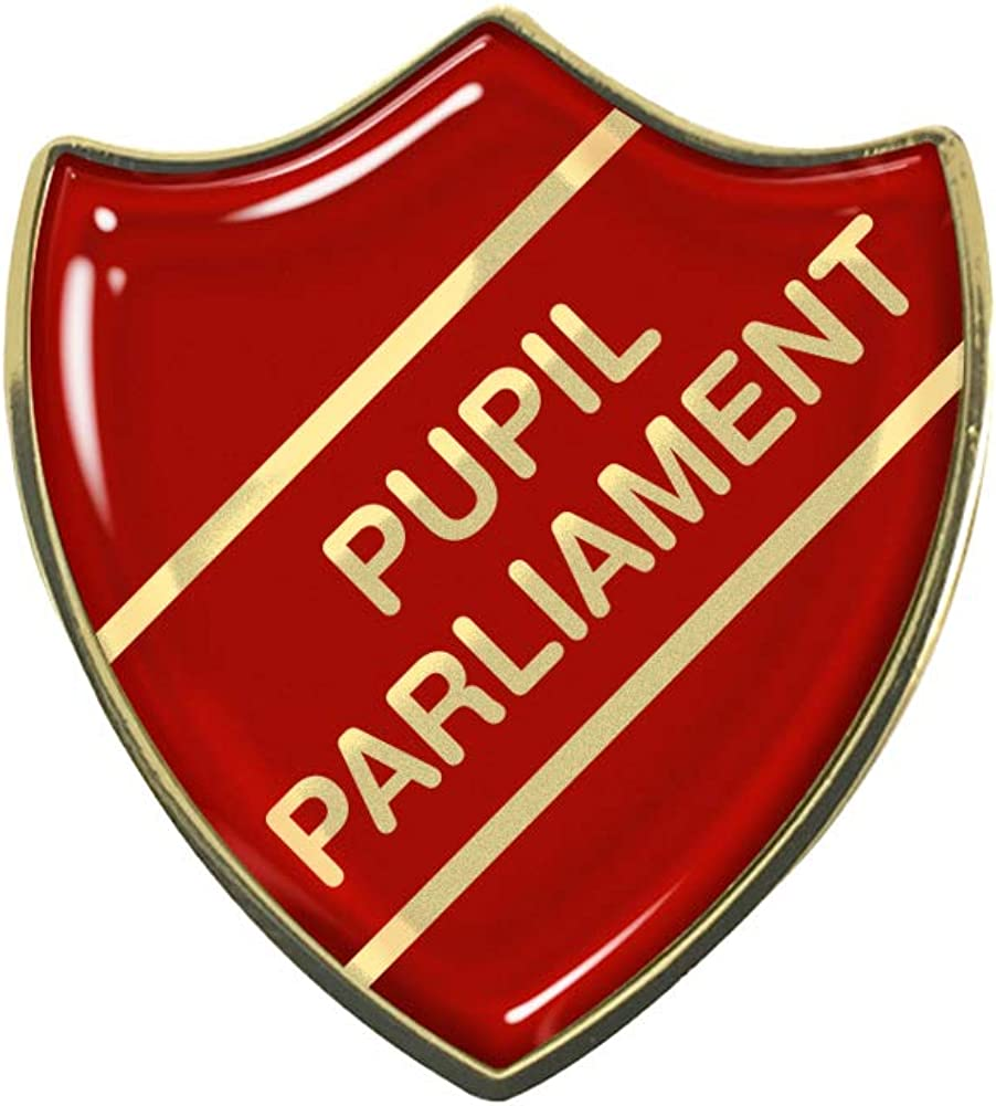 Capricornone Pupil Parliament School Shield Badge