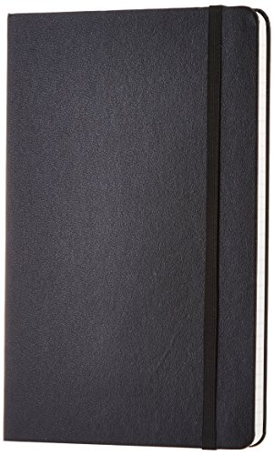 Hardbound Journal - AmazonBasics Classic Notebook - Ruled