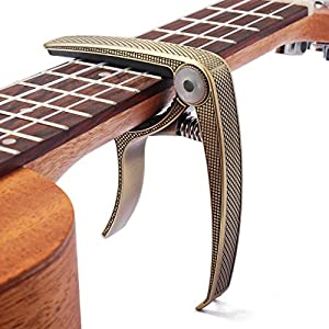 Generic-Guitar-Capo-Clamp-for-Electric-Acoustic-Guitar-Quick-Trigger-Release-TypeC