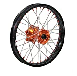 ProTrax Complete Rear Wheel Rim 19''X1.85 Orange Hub KTM 125SX 250SX 450SXF 13-17