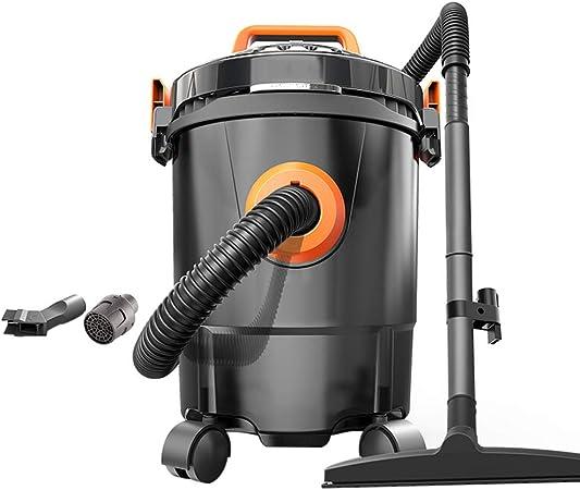 TY-Vacuum Cleaner MMM@ Aspiradora en hogares en seco Comercial y Wet Blowing Aspirador Tres de Uso del Agua 1200W de Alta Potencia Barril Tipo No-Uso Aspirador 12L Barril de plástico: Amazon.es: Hogar