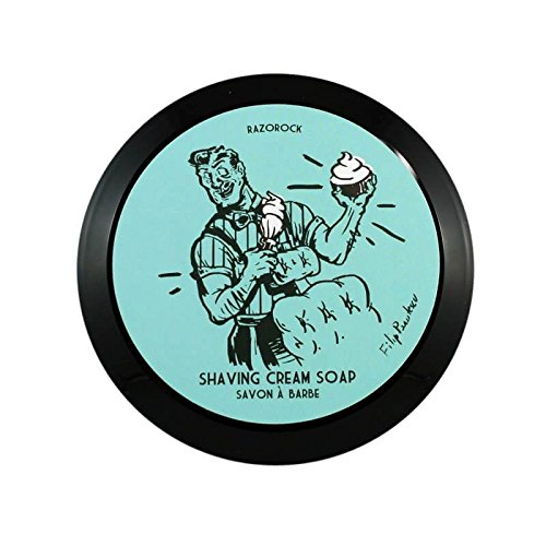 Price comparison product image RazoRock BLUE BARBERSHOP Shaving Cream Soap