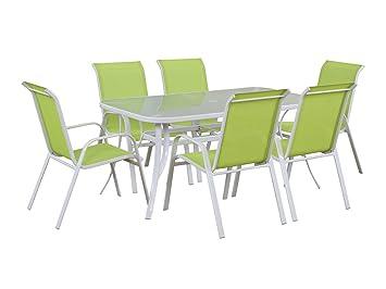 Viva Green - Salon de jardin en textilène Cordoba - Phoenix - Vert ...