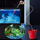 5 in1 Aquarium Gravel Cleaner Water Changer Glass